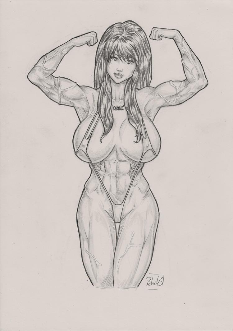 Commission: She-Hulk by PatrickS-Artist