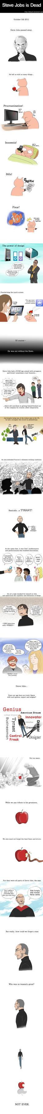 Steve Jobs is Dead: a Webcomic by Sibauchi