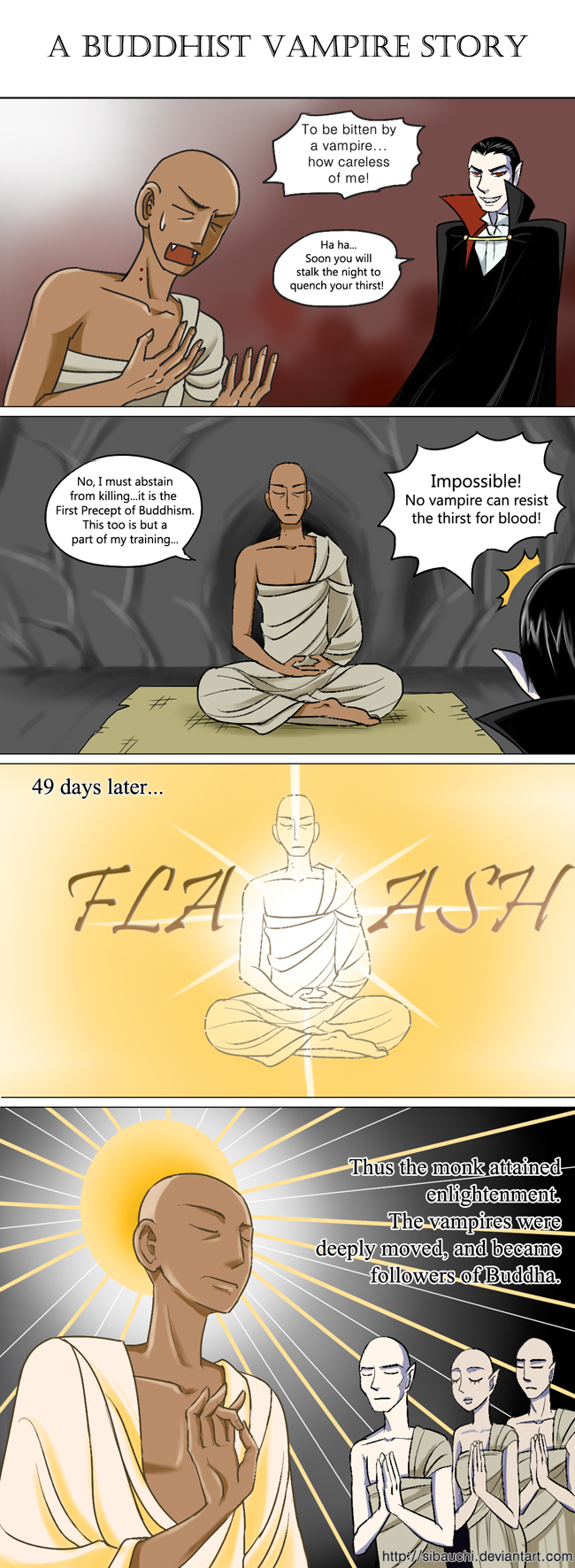 A Buddhist Vampire Story by Sibauchi