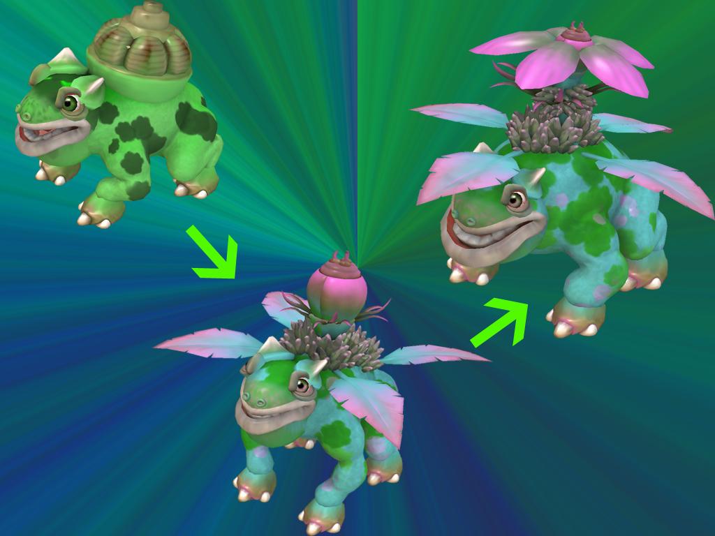 Bulbasaur Evolution Spore By Rodrigovg3