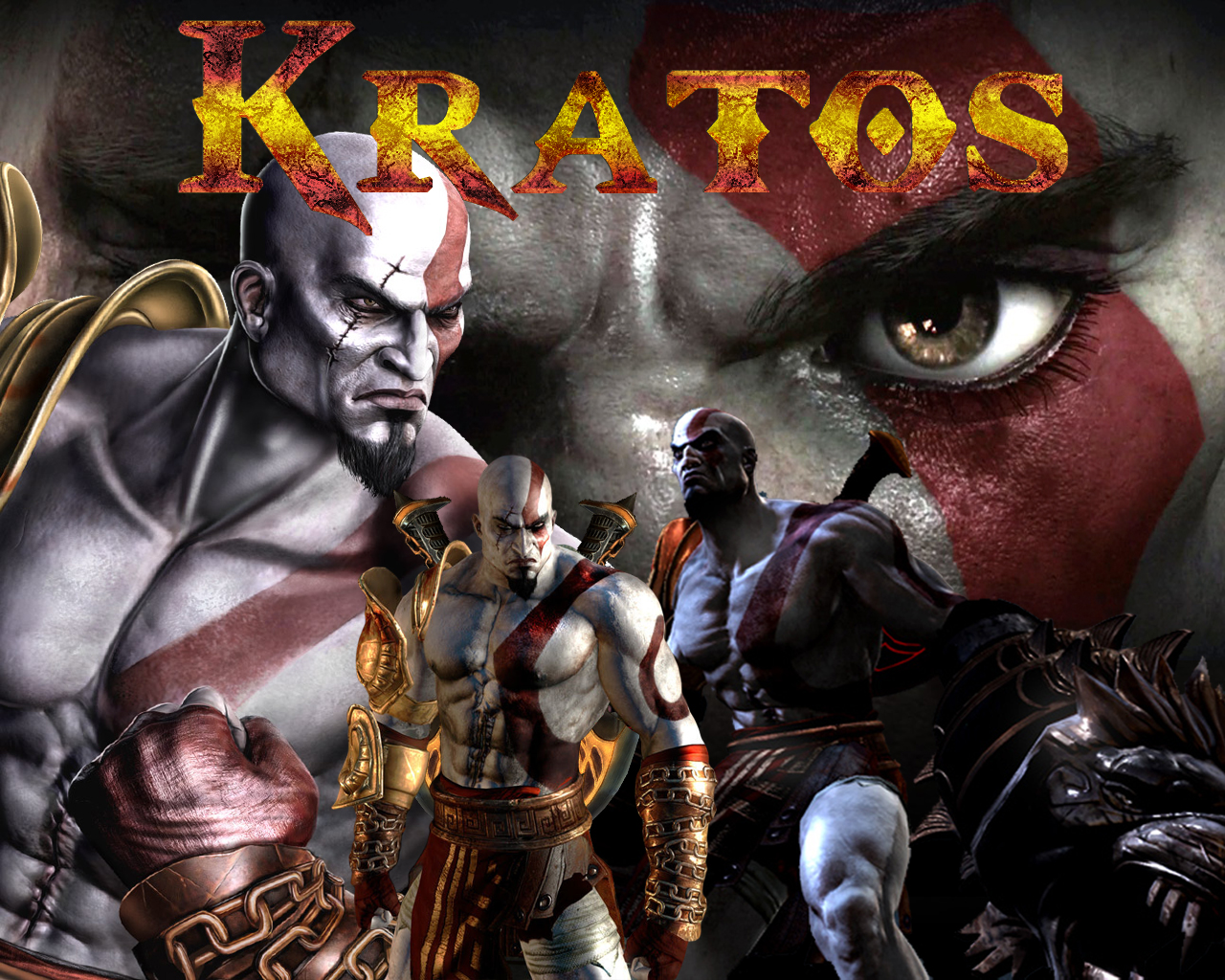 God of war 3 Kratos Wallpaper by Rodrigovg3 on deviantART