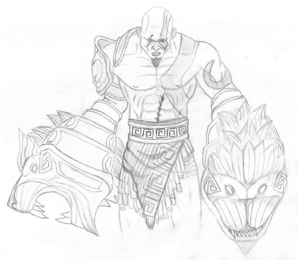 Kratos Nemean Cestus by Rodrigovg3 on DeviantArt
