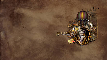 Steam Me Away WP by KiyaSama