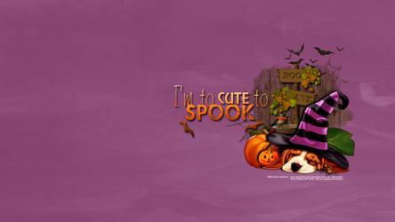 Too Cute to Spook WP by KiyaSama