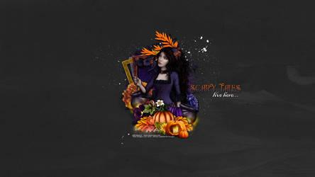 Scary Tales WP by KiyaSama