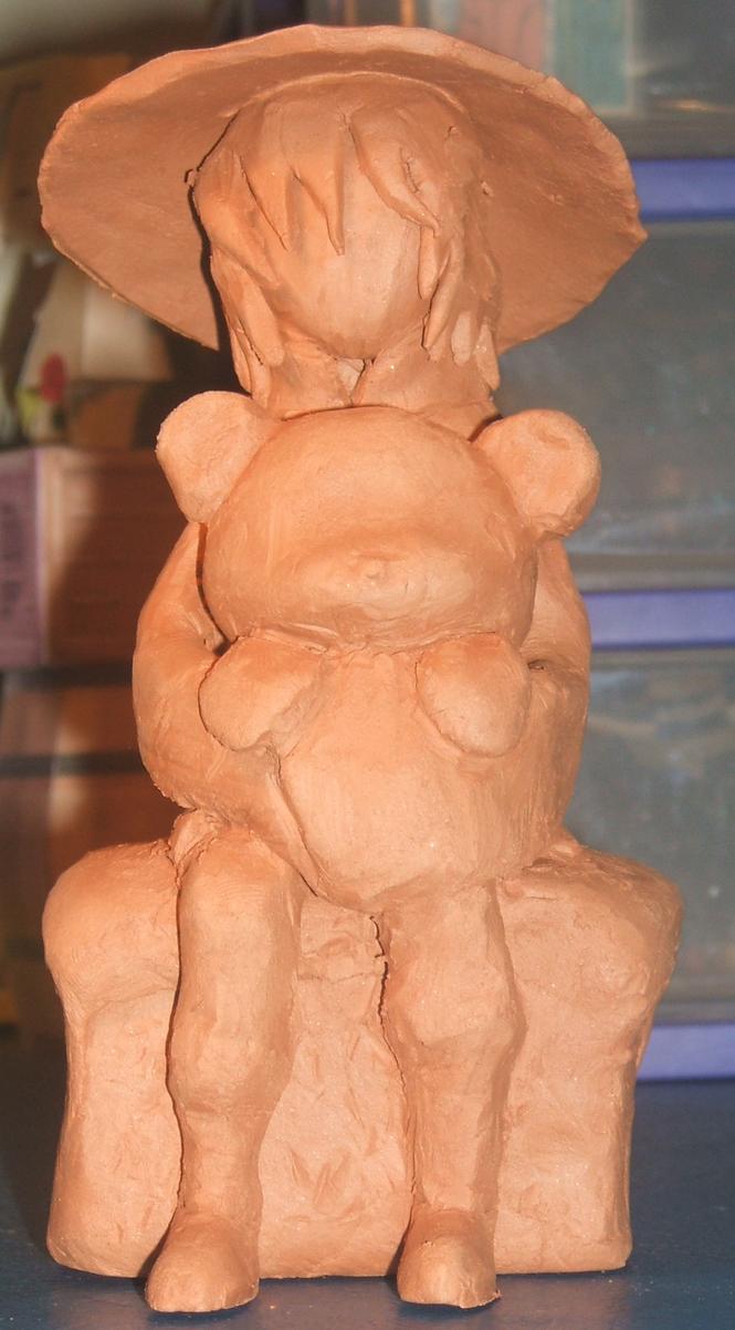 HK clay sculpture by MidiSaya