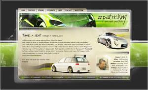 Patrick.M_ Personal Portfolio. by cc-Designs