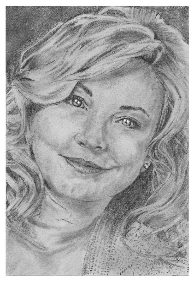 Amanda Redman by nev777