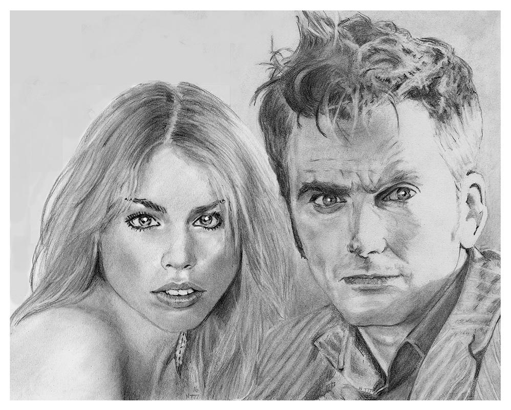 Doctor Who and Rose Tyler by nev777