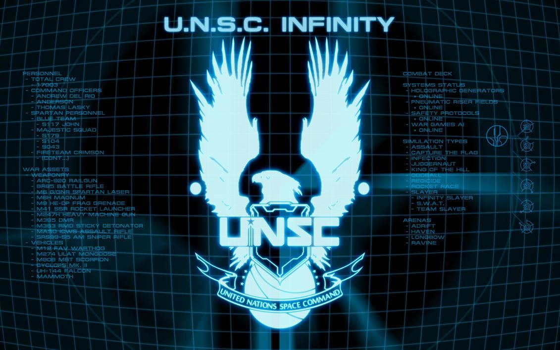 UNSC Display Screen Wallpaper, V2 by EchoLeader