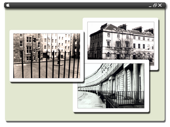 Edinburgh postcards by dPdDesign