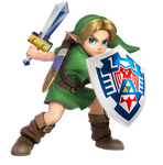 Young Link Smash Ultimate (Majora's Mask edition)