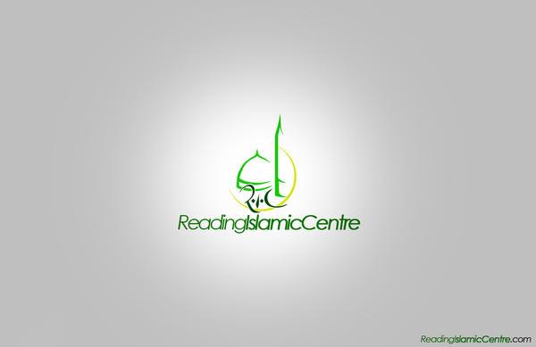 Islamic Logo Reading islamic centre logo