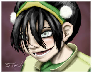 Toph Portrait by serenity22