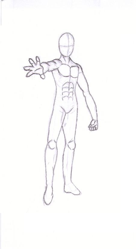 Anime Male Body Sketch.. By Sierrya On DeviantArt