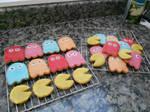 Pacman Cookies!