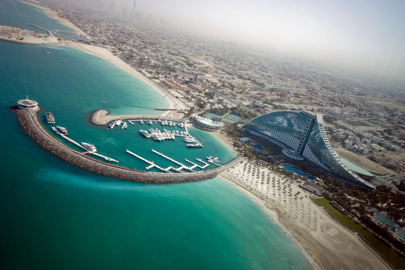 Dubai 2009 - View from Burj Alarab Hotel by CaesarPower