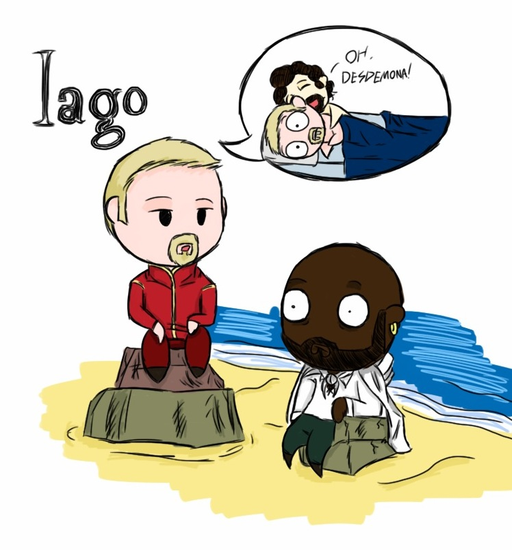 iago the evil in othello Understanding iago's evil what is it that makes iago and there is a crucial lesson to be taken away from othello the evil that consumes iago and his victims.