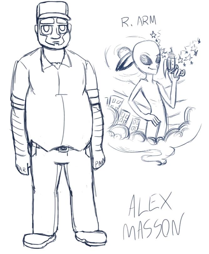 Alex Masson by ultimateZ