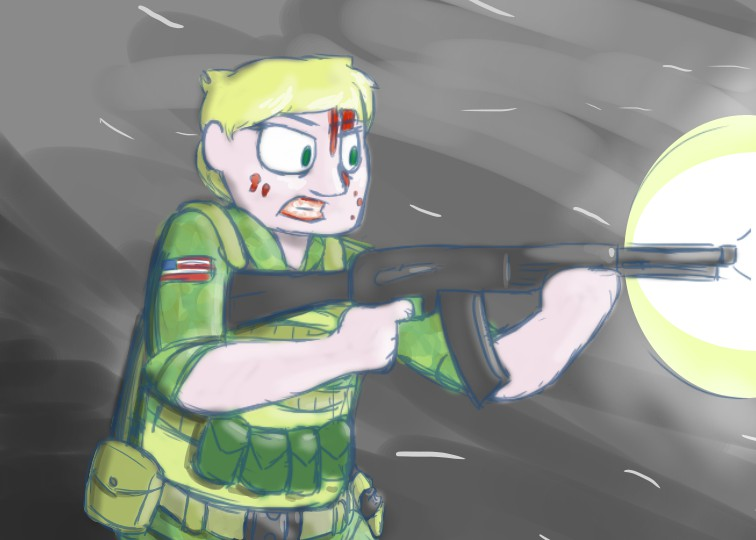 Sal the Soldier by ultimateZ