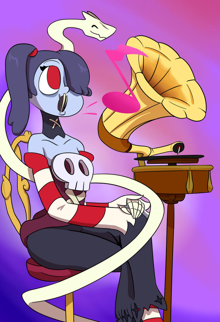 Squigly and the Gramophone by ultimateZ