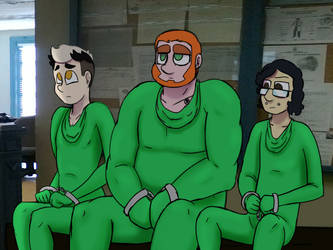 Green Men by ultimateZ