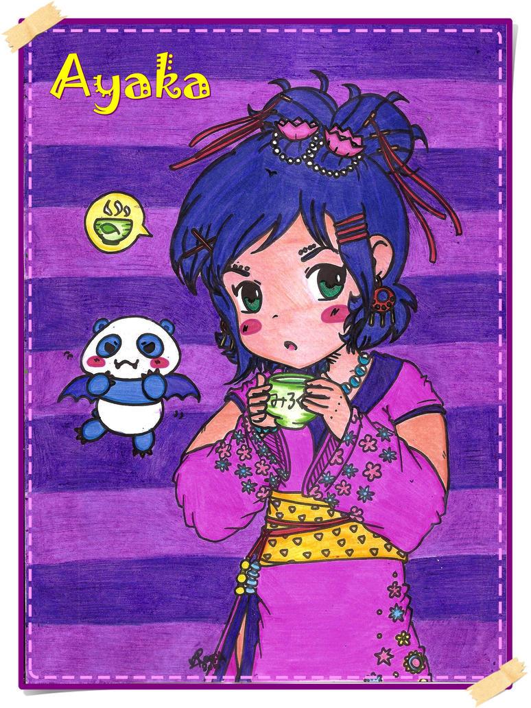 SugarOverKill Contest - Ayaka by Reemu-chan1984