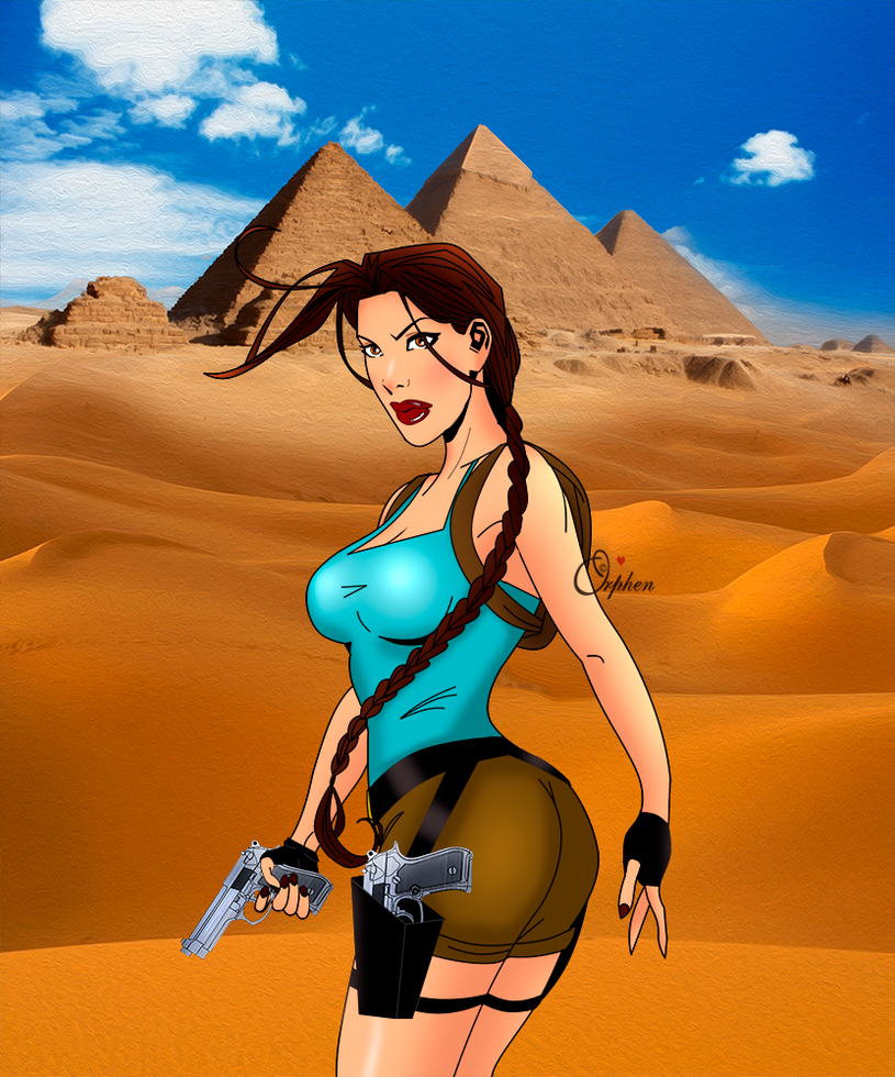 Lara Croft 89 by Orphen5