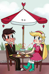 first date starco by glitteringcreations