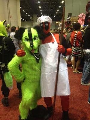 Deadpoolio the Amazing! by AngelWolfie67