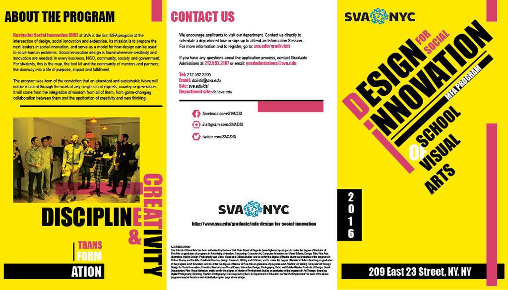 SVA Brochure (Cover, Back, Gatefold) by Kid-Kun96