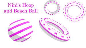 Cyber Sweet Cutie Nini's Beach ball and Hoop DL by Shaun578