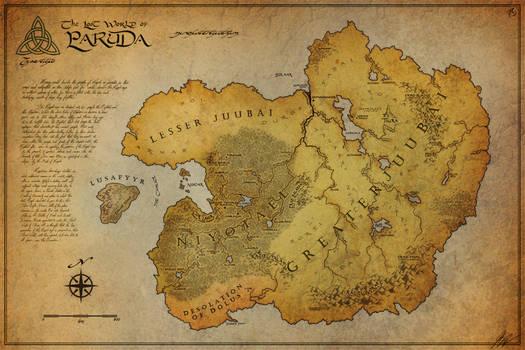 The Lost World Paruda - Map