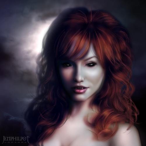 Redhead Vampire Sex 104