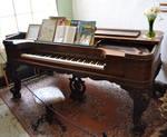 STOCK - Antique Grand Piano 1