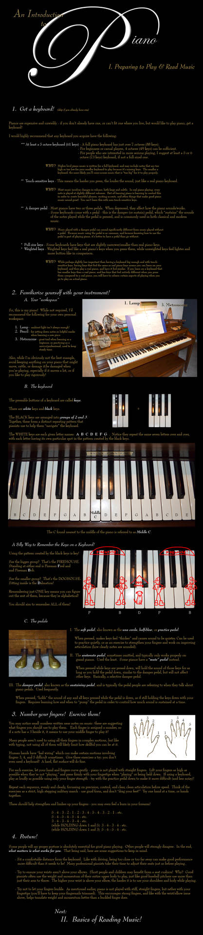 Introduction to Piano I