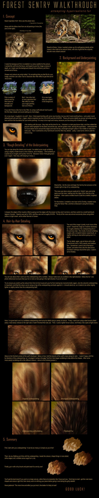 Realistic Fur Tutorial by jocarra