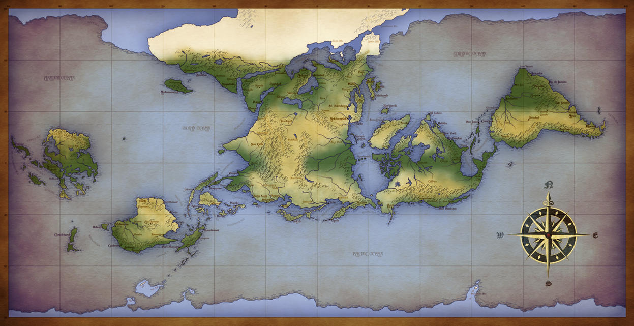Alternate Earth Map.Images Of Commission Alternate Earth Calto