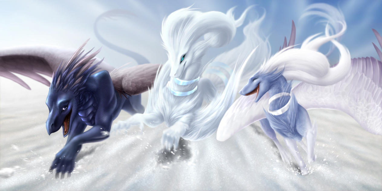 Commission - Snowbound by jocarra