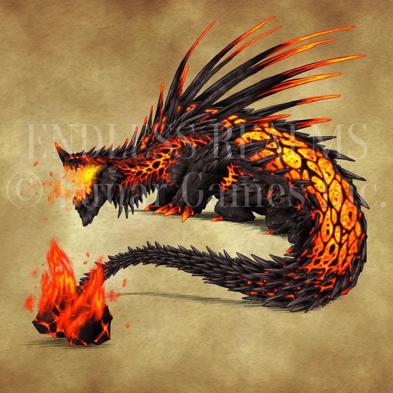 fire salamander tattoo
