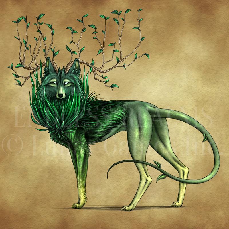 Endless Realms bestiary - Forest Walker by jocarra