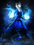 Speedpaint Commission - Blue Fire