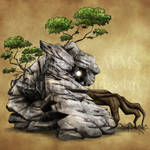 Endless Realms bestiary - Earth Golem