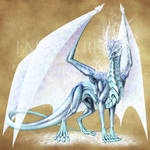 Endless Realms bestiary - Frost Dragon Scion