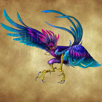 Endless Realms bestiary - Harpy by jocarra
