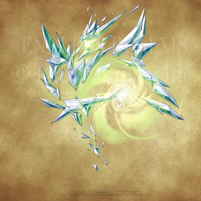 Endless Realms bestiary - Wind Golem by jocarra
