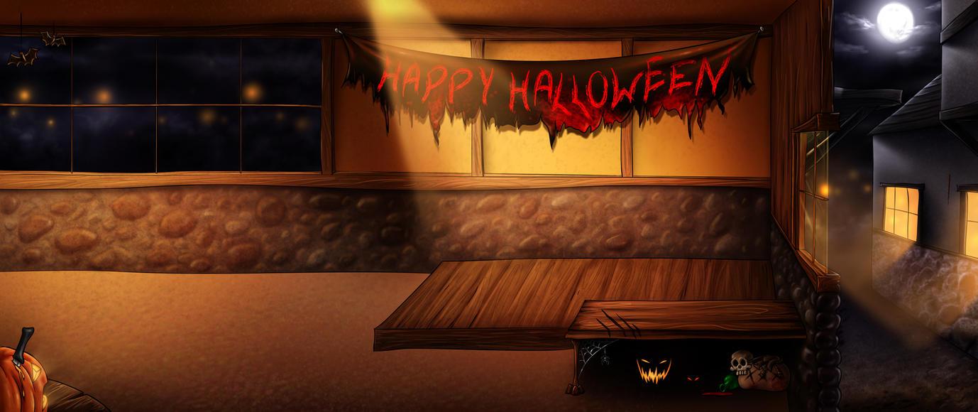 Halloween Premade Background by jocarra