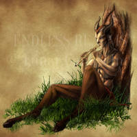Endless Realms bestiary - Faun by jocarra