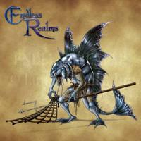 Endless Realms bestiary - Sahuagin by jocarra