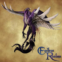 Endless Realms bestiary - Hippogriff by jocarra